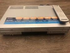 Sony Dvd Vcr Slv-D370P Combo Player & Recorder, With Remote. Tested & Working