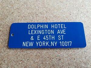 DOLPHIN HOTEL KEY RING, STEPHEN KING 1408, NOVELTY KEY TAG, ENGRAVED