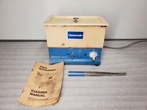 GESSWEIN ULTRASONIC CLEANER MODEL 87