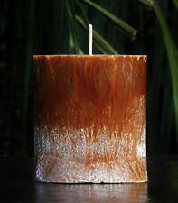 80hr CEDAR WOOD & VANILLA Earthy & Triple Scented ECO CANDLE Spa Bath Fragrance