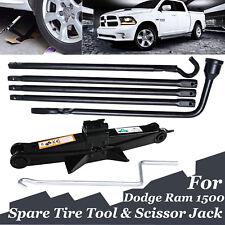 Tools Kit For Dodge Ram 1500 Spare Tire Lug Wrench W/ Bag & 2Ton Scissor Jack