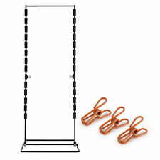Chip Snack Clip Rack Display 24 Tall X 9 Wide Counter Stand Racks