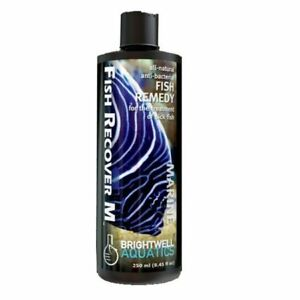 BRIGHTWELL FISH RECOVER M ( Natural anti Bacterial treatment for Marine Fish)