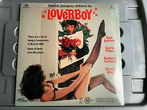 LOVERBOY LASER DISC, LD, PATRICK DEMPSEY, CARRIE FISHER, NEW AND SEALED