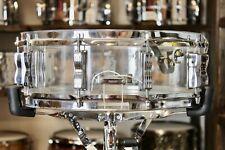 "Vintage Ludwig Clear Vistalite 5X14"" Snare Drum"
