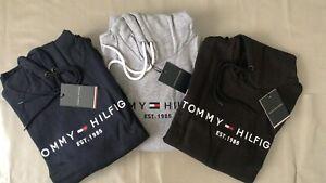 Tommy Hilfiger Core Logo Hoodie Long Sleeve Hooded Top