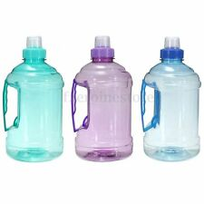 500-2000ml 1L 2L Water Bottle BPA Free Cycling Training Camping Travel Sport Gym