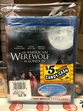 An American Werewolf in London (Blu-ray Disc, 2009, Full Moon Edition) New Oop