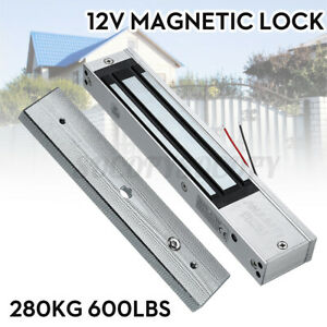 280KG (600LBS) Holding Force Electric Magnetic Electromagnetic Door Lock 12V