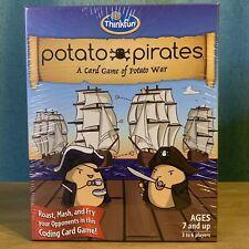 Potato Pirates - A Card Game of Potato War by Thinkfun Age 7+ BRAND NEW SEALED