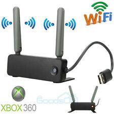 Microsoft XBOX 360 Black Dual Band Wireless N Network Internet Adapter WiFi NEW