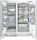 "NIB Thermador Gaggenau 54"" Integrated Refrigerator freezer RC472701 / RF461701 photo"