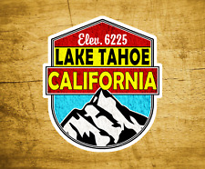 "Lake Tahoe California Decal Sticker  3"" x 3.4"" Skiing Lakes Boating"