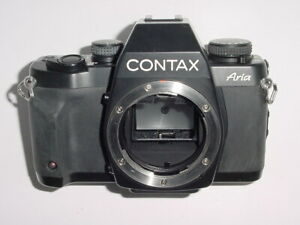 CONTAX Aria 35mm Film SLR Manual Camera Body * Ex++