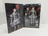 """NECA IT Pennywise 7"""" Action Figure You'll Float too 93N061419 - NEW OPEN BOX"""