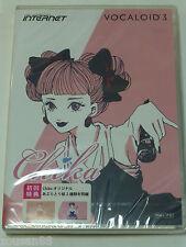Internet VOCALOID3 Library Chika DVD Windows Mac PC Software Vocaloid 3 Japan