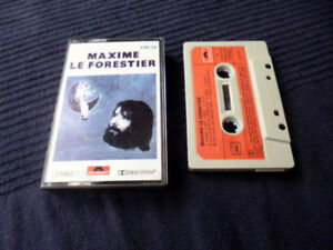 MC KASSETTE Maxime Bruno Le Forestier No. 4 (1976) Chansons Polydor Le Fil Amis