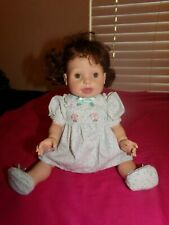 2000 Playmates Amazing Babies Response Interactive Baby Doll.