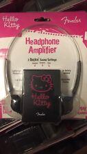 Fender Hello Kitty Headphone Amp Stratocaster Telecaster Squier Jaguar Bass Rare