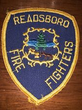 Readsboro Vermont Fire Department Patch