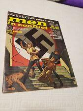 Men in Conflict Magazine, 1961 Aug, Nazi, torture, GGA, pulp, bondage, adventure