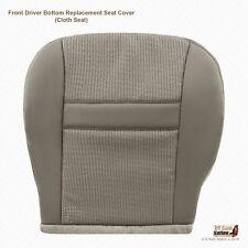 Driver Bottom Cloth Seat Replacement Seat Cover Khaki (Tan) 2007 2008 Dodge Ram