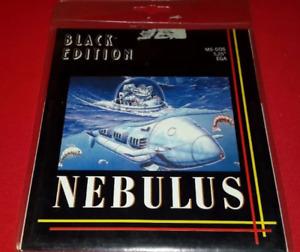 Nebulus / Tower Toppler DOS IBM Rare Floppy - Hewson Consultants - John Phillips
