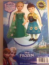 Simplicity Frozen Fever Dolls Costume 1088 / 0365 New