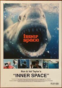 INNER SPACE film poster/Giclée Print SVEN LIBAEK Soundtrack OST Underwater Jazz