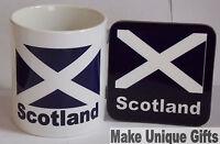 Scotland mug and coaster set - great idea for birthday