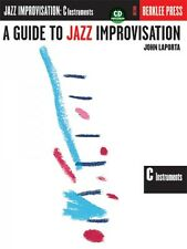 A Guide to Jazz Improvisation C Edition Berklee Guide Book and Cd New 050449439