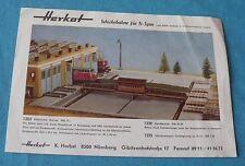 Herkat w germany notice 2 feuilles ho 1:87 accessoires  réseau train électrique
