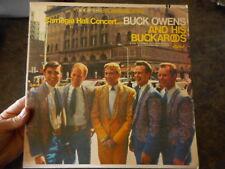 Buck Owens & his Buckeroos Carnegie Hall Pre owned Used Album RECORD lp MUSIC