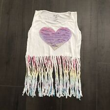flowers by zoe Girls Tank Top Size S