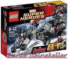 LEGO® Super Heroes: 76030 Avengers – Duell mit Hydra & 0.-€ Versand & OVP & NEU
