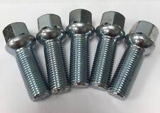 ALLOY WHEEL BOLTS M14X1.5 X 5 RADIUS BIMECC 40mm THREAD FOR AUDI A5 A6 A7 A8