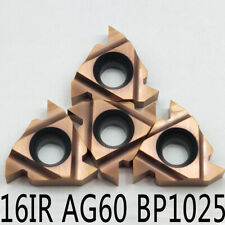 "10× 16IR 3//8/"" AG60 PRC 16IRAG60 Carbide Inserts cutting tools threading inserts"