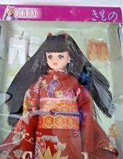 2000 Takara Jenny Character Red Kimono Doll Japan