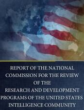 Report of the National Commission for the Review of the Research and...