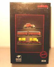 Marklin  Z:  8134  Train set with Dieselloco  *POST*