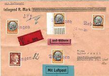 Besetzungsausgaben Briefmarken aus der deutschen Besetzung im 2.Weltkrieg mit Mischfrankatur
