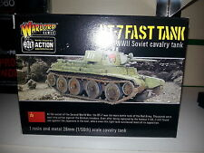 WARLORD GAMES BOLT ACTION SOVIET BT-7 FAST TANK 1/56 SCALE MINIATURE