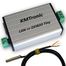 KMtronic LAN DS18B20 WEB Digital Temperature Monitor 1 Sensor (1 meter Cable)
