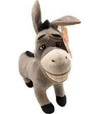 "2004 Shrek 2 Donkey Jumbo Plush 26"" Stuffed Animal Hasbro DreamWorks Xl"