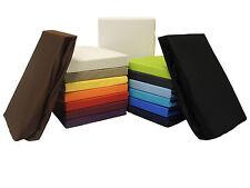 2er-Set Microfaser Spannbettlaken Spannbetttücher - viele Farben & Größen