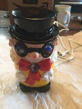 Novelty Night light lamp Clown Made In Japan