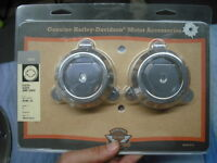 02087 NEW Harley chrome fluted slider joint cover - V-Rod VRSC 45190-04