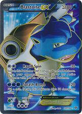 Pokemon XY Blastoise EX 142/146 Holo Full Art Ultra Rare Card