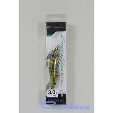 1X DAIWA EMERALDAS NUDE Squid Jig #3.0 COLOR 05 Weed Shrimp