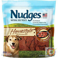 Nudges Steak Grillers Dog Treats, Made in the USA ,36 oz
